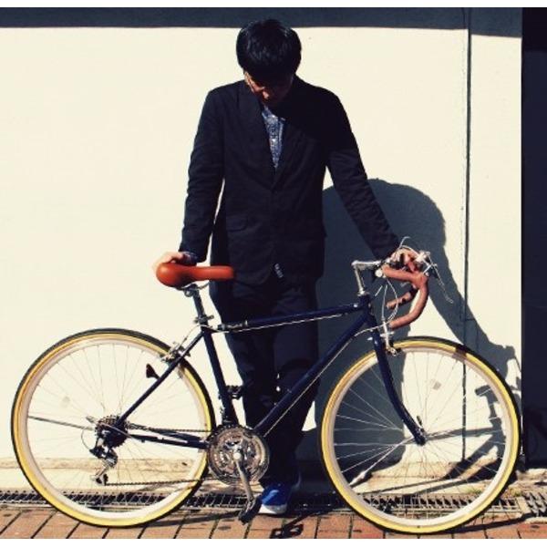 ロードバイク 700c(約28インチ)/ネイビーブルー(青) シマノ21段変速 重さ/14.4kg 【Raychell】 レイチェル RD-7021R【代引不可】