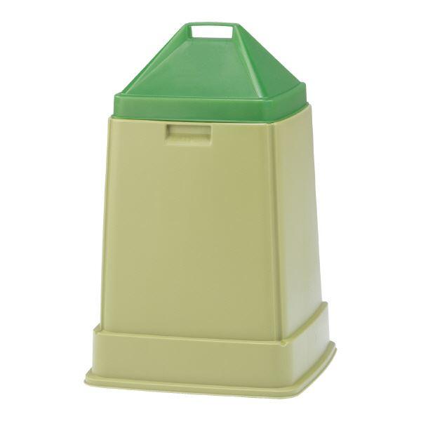 (業務用5個セット)三甲(サンコー) コンポスターセット/生ゴミ処理容器 【70L】 D-70】 グリーン(緑) 緑