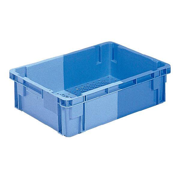 (業務用5個セット)三甲(サンコー) SNコンテナ/2色コンテナボックス 【Cタイプ】 #33F ブルー×ライトブルー【代引不可】