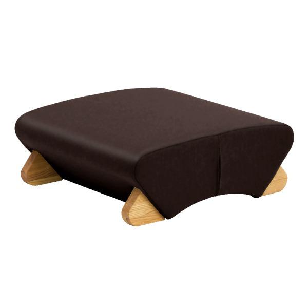 デザイン座椅子 (イス チェア) 脚:クリア/ビニールレザー:ブラック 【Mona.Dee モナディー】WAS-F 黒