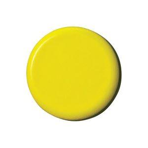 (業務用100セット) ジョインテックス 強力カラーマグネット 塗装18mm 黄 B272J-Y 10個