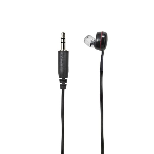 業務用セット地デジTV用片耳イヤホン ブラック 3m 耳穴ショート型 RE STB03 BK×10セット黒Nwym80Ovn