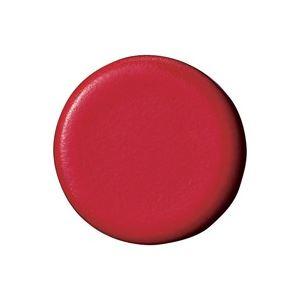 (業務用100セット) ジョインテックス 強力カラーマグネット 塗装18mm 赤 B272J-R 10個