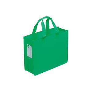 (業務用30セット) サクラクレパス オフィス 事務用 トートバッグJ UNT-A4J#29 緑