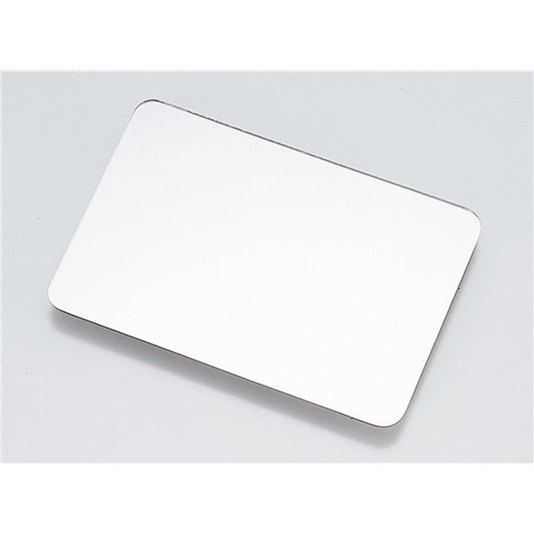 (まとめ) 角型鏡 160×110mm 10枚(角丸) 【×5セット】