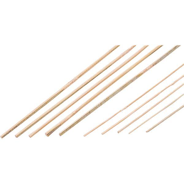 (まとめ) 竹ヒゴ 100本組 C 3φ×300mm 【×5セット】