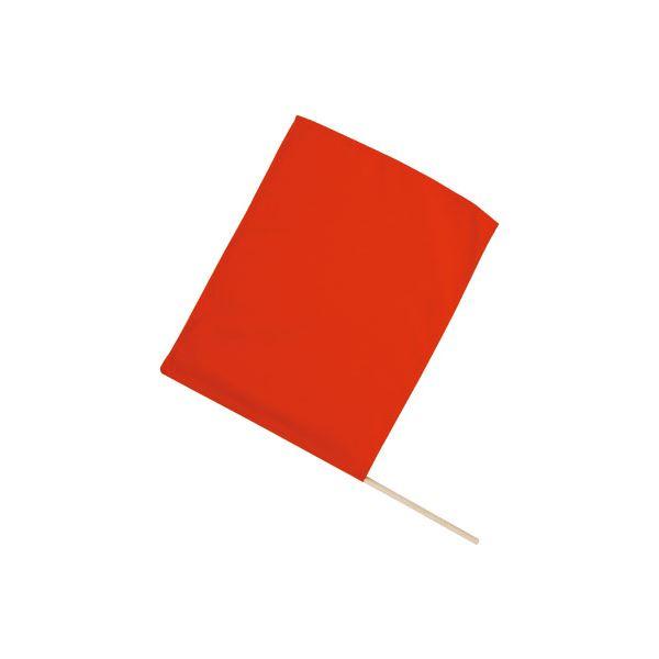 (まとめ) 旗/フラッグ 【小】 410×300mm ポリエステル・綿製 レッド(赤) 【×40セット】 赤