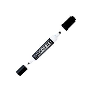 (業務用200セット) サクラクレパス ホワイトボードマーカーツイン WBK-T 黒 白