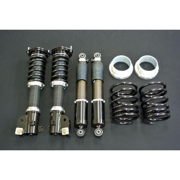 タント/タント カスタム L350S サスペンションキット CAD CARSコラボモデル フロントKYB(SR52276-01)ショック仕様 標準リアスプリング:6.5k/H160 シルクロード