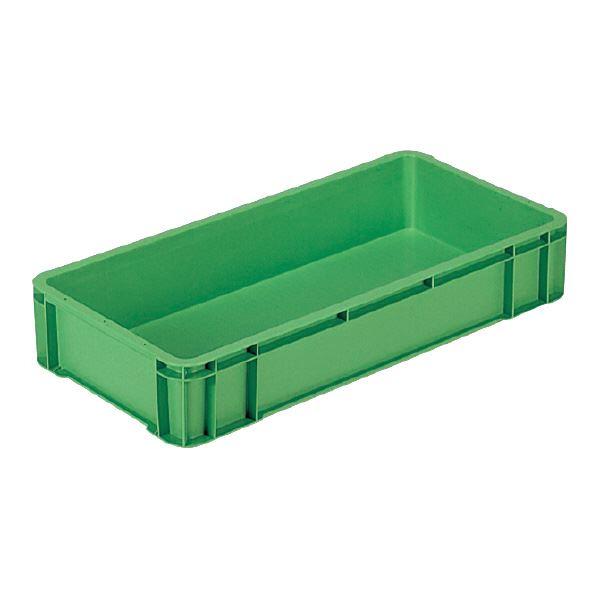 (業務用5個セット)三甲(サンコー) ベタ目コンテナボックス/サンボックス 27 グリーン(緑) 【代引不可】
