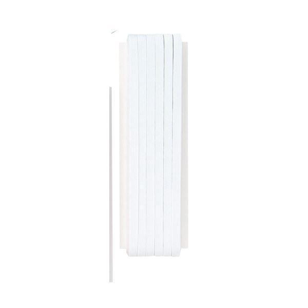 (業務用10セット) キッズ 子供 平ゴム8コール(5mm幅)30m巻白