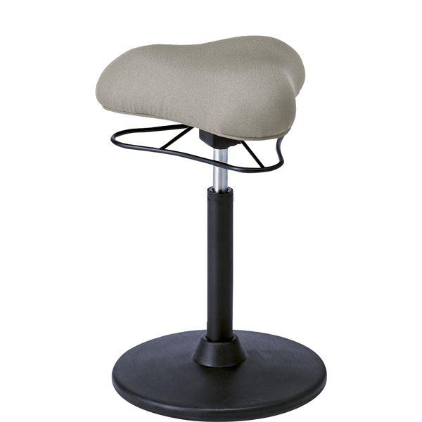 プロポーションスツール バーチェア /カウンターチェア (イス 椅子) 【HIGHタイプ/ライトグレー】 高さ61~86cm 座面360度回転・昇降式
