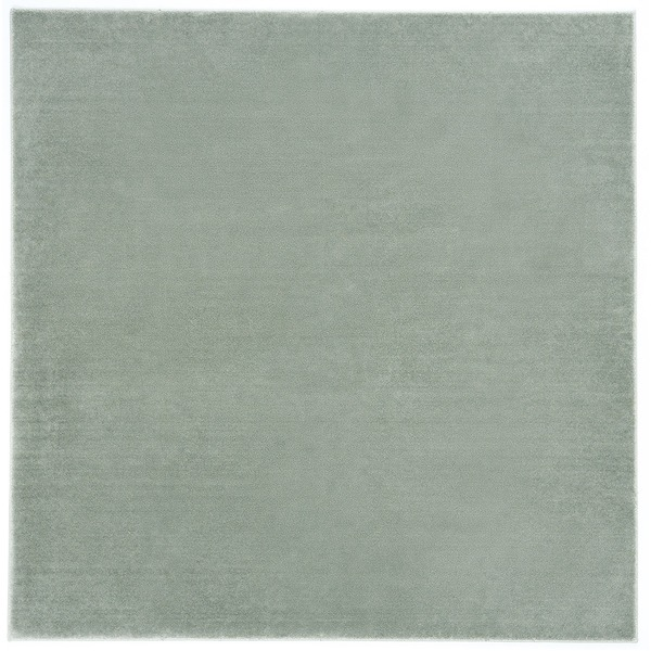 防炎&防音 ナイロンラグ/絨毯 【200cm×200cm ブルーグレー】 正方形 日本製 国産 『カーム』 〔リビング〕 青
