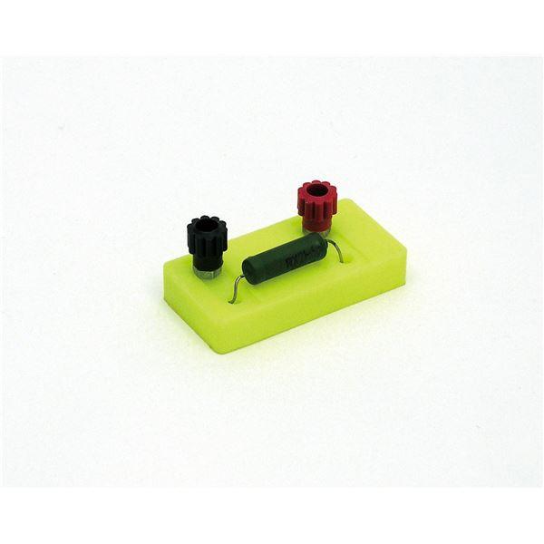 (まとめ) 電器回路実験用抵抗器 5Ω 【×30セット】