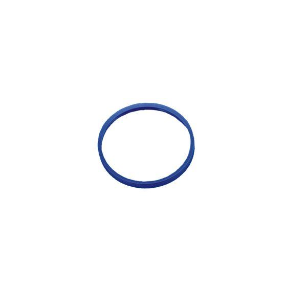 【柴田科学】ねじ口びん液切リング 青キャップ用 GLS-80【10個】 017250-802A