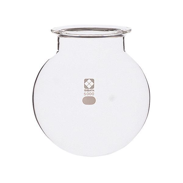 【柴田科学】セパラブルフラスコ 丸形 バンド式 120mm 1L 005910-1000