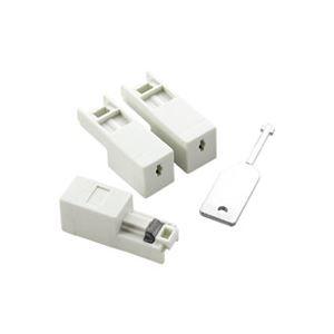 (業務用30セット) エレコム ELECOM LANコネクタジャックプロテクタ3個ESL-LAN1 ×30セット