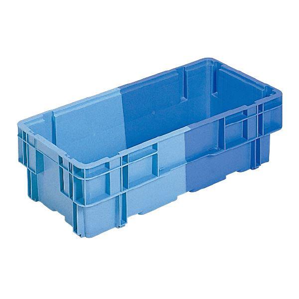 (業務用8個セット)三甲(サンコー) SNコンテナ/2色コンテナボックス 【Bタイプ】 B362 ブルー×ライトブルー【代引不可】