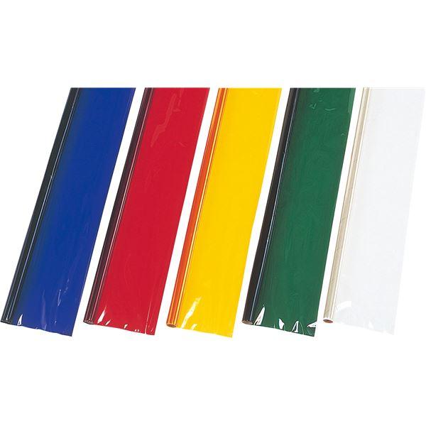(まとめ) カラーセロハン 1000×900mm グリーン(緑) 【×30セット】 緑