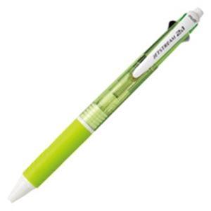 シャーペン 油性ボールペン マルチペン 複合ペン 複合筆記具 (業務用100セット) 三菱鉛筆 多機能ペン/ジェットストリーム2&1 【シャープ芯径0.5mm/ボール径0.7mm】 MSXE350007.6 緑