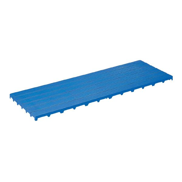 (業務用3個セット)三甲(サンコー) サンスノコ(すのこ 蒸れにくく 通気性が良い 板/敷き板) 1795mm×593mm 樹脂製 #1860 ブルー(青) 青