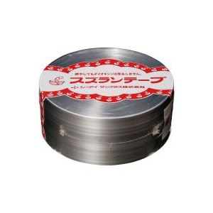 (業務用100セット) CIサンプラス スズランテープ/荷造りひも 【銀/470m】 24203102