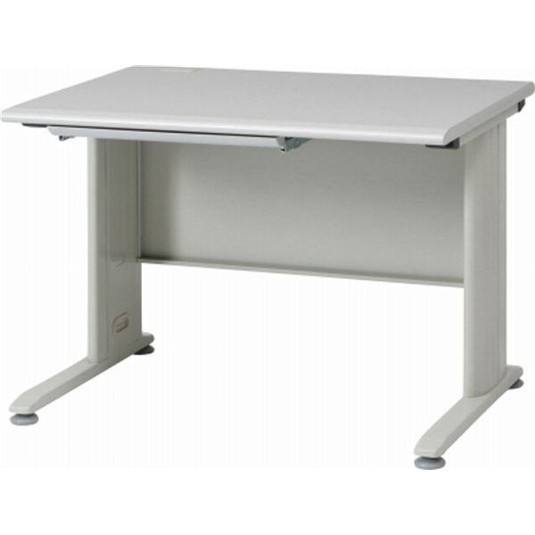パソコン PC デスク (テーブル 机) /平机 テーブル 100 引き出し整理 収納付き 幅100cm×奥行70cm KH100 ホワイト(白)【組立品】 白