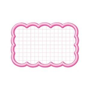 (業務用100セット) タカ印 抜型カード 16-4116 雲形中 ピンク