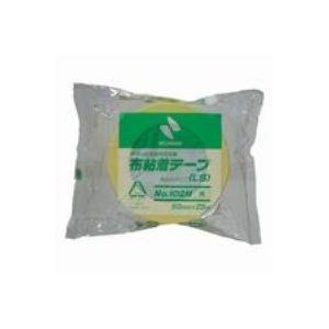 (業務用100セット) ニチバン カラー布テープ 102N-50 50mm×25m 黄色