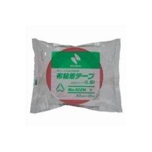 (業務用100セット) ニチバン カラー布テープ 102N-50 50mm×25m 赤