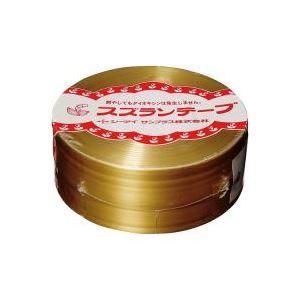 (業務用100セット) CIサンプラス スズランテープ/荷造りひも 【金/470m】 24203101