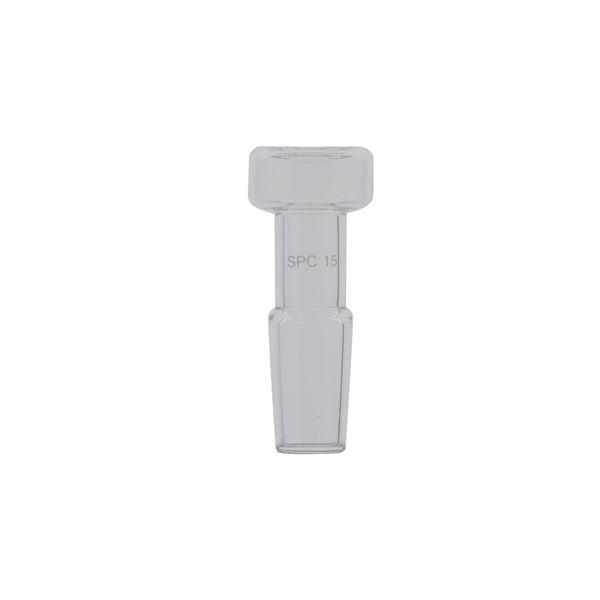 【柴田科学】SPC パソコン 平栓 SPC -19【5個】 030060-19A