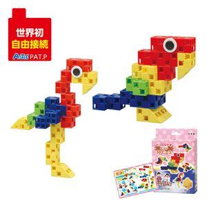 (まとめ) Artecブロック/カラーブロック 【とりのなかまセット】 30pcs ABS製 【×15セット】