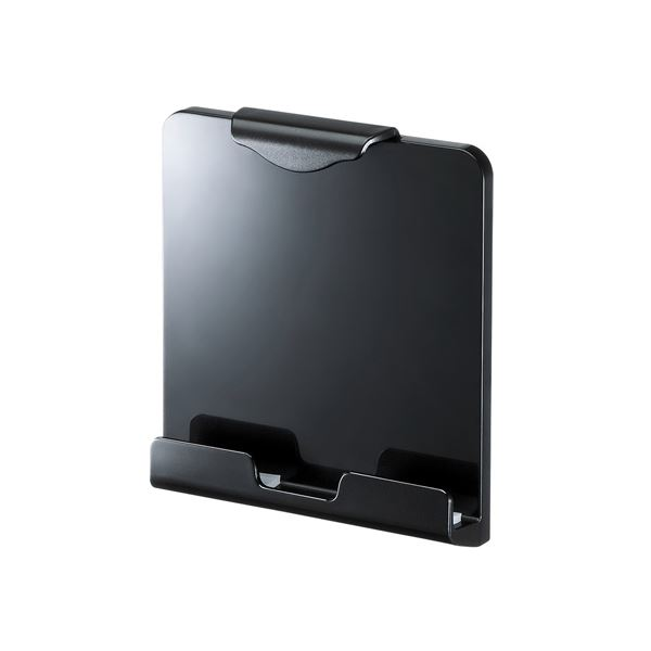 (まとめ)サンワサプライ iPad・タブレット用VESA取付けホルダー CR-LATAB20BK【×2セット】