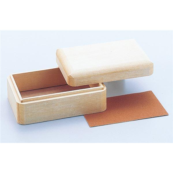 (まとめ) 木彫小箱(しな) 【×15セット】