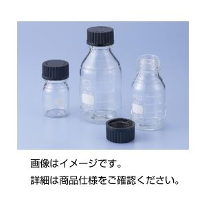 (まとめ)ねじ口瓶(黒蓋付 DURAN) 1000ml【×3セット】