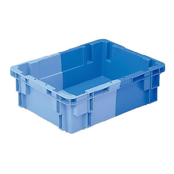 (業務用10個セット)三甲(サンコー) SNコンテナ/2色コンテナボックス 【Bタイプ】 #21 ブルー×ライトブルー 【代引不可】