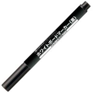 (業務用100セット) ジョインテックス ホワイトボードマーカー細字黒H007J-BK-10P 10本 白