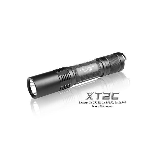 KLARUS(クラルス) LEDフラッシュライト XT2C 【日本正規品】