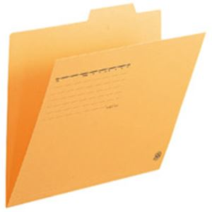 【送料無料】(業務用5セット) プラス 個別フォルダー FL-061IF A4E 黄 100枚 【×5セット】