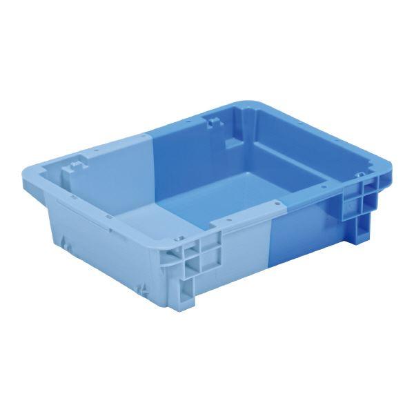 (業務用20個セット)三甲(サンコー) SNコンテナ/2色コンテナボックス 【Bタイプ】 #6 ブルー×ライトブルー 【代引不可】