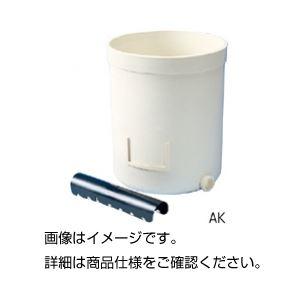 (まとめ)水耕器 BK(ワグネルポット)【×10セット】