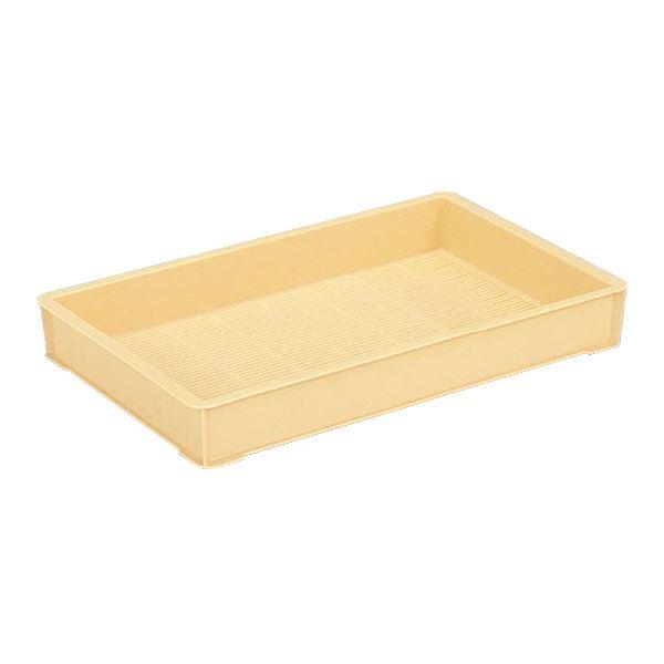 (業務用10個セット)三甲(サンコー) 麺用コンテナボックス 3型 クリーム