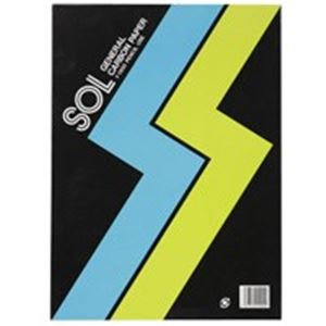 (業務用10セット) ゼネラル ゾルカーボン紙 #1300-B 片面筆記 藍