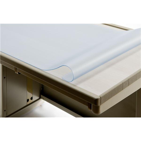 デスク (テーブル 机) マット 【再生ノンコピータイプW/1.8mm厚】 1595mm×695mm 下敷なし 片面非転写 スカイメルト RN-167S