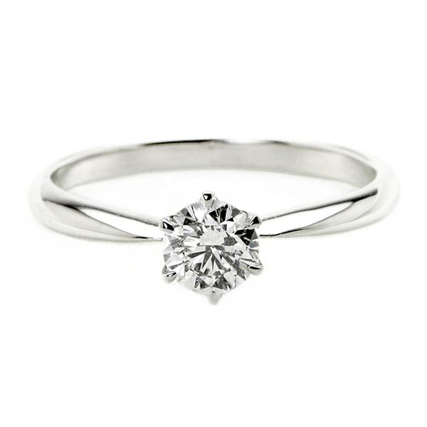 Pt900 プラチナ 0.3ct リング Dカラー ダイヤモンド エクセレント ダイヤ指輪 ブライダル EXハート&キューピット Excellent SI2 14号 鑑定書付き