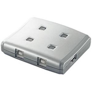 (業務用10セット) エレコム(ELECOM) USB切替器4切替 USS2-W4