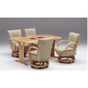 【チェア別売り】ダイニングテーブル/リビングテーブル 【長方形/幅150cm】 ナチュラル 『サム』 木製 4人掛け 木目調【代引不可】