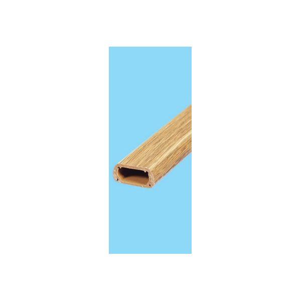 (業務用セット) ELPA 木目モール ダーク 2号 1m テープ付 2ゴウ ダーク 【×30セット】