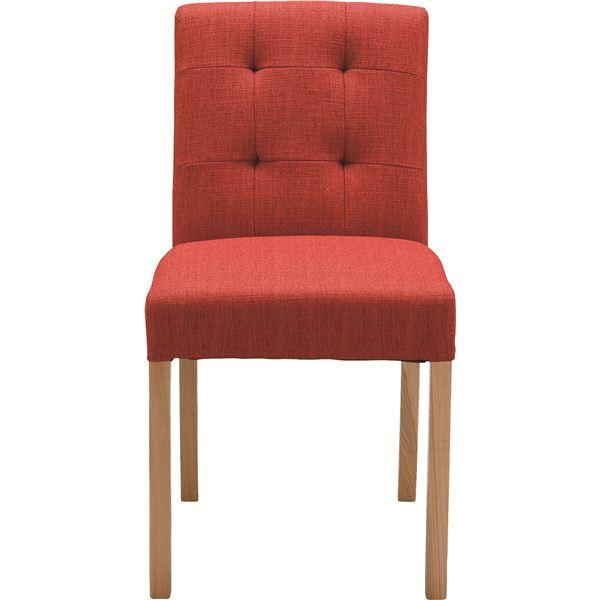 (2脚セット)東谷 ダイニングチェア ダイニング用チェア イス 食卓 椅子 木製(天然木 ) CL-812CRD レッド(赤) 赤